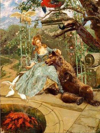 Lilis Park 1890 - Franck Kirchbach reproduction oil painting