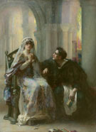 Ellen Terry and Henry Irving in Abelard and Heloise - Henrietta Rae