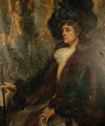 Lady Newton - Henrietta Rae reproduction oil painting