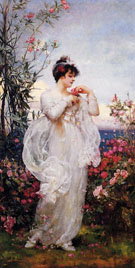 Spring - Henrietta Rae reproduction oil painting