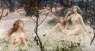 Springs Awakening the Snow Maidens - Henrietta Rae