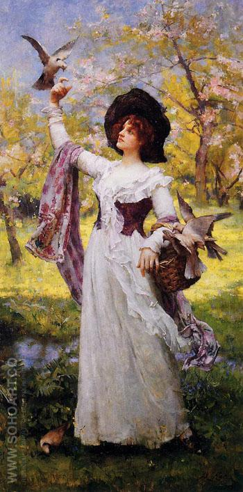 Summer - Henrietta Rae reproduction oil painting