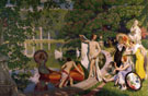 Jeunesse Vieux Parc - Henry Bouvet reproduction oil painting