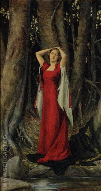 Isolde - Henry Meynell Rheam reproduction oil painting