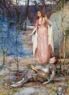 La Belle Dame Sans Merci 1903 - Henry Meynell Rheam