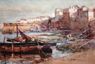 Old Harbour Newlyn - Henry Meynell Rheam