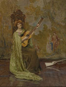 The Guitar Player 1904 - Henry Meynell Rheam