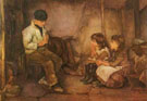 The Music Lesson - Henry Meynell Rheam
