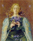 Violets 1904 - Henry Meynell Rheam reproduction oil painting