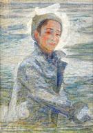 Fasuto Kastar Snoboll - Johan Axel Gustaf Acke reproduction oil painting