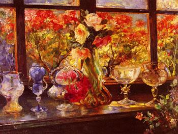 Fiori E Murano - Paolo Sala reproduction oil painting