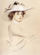 Portrait of a Woman - Paul Cesar Helleu