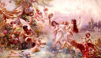 Bacchanale - Paul Jean Gervais reproduction oil painting