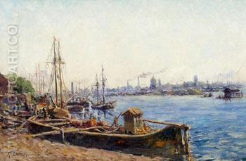 St Petersburg - Remy E Landeau reproduction oil painting