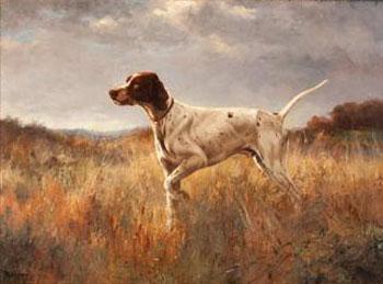 English Pointer Jimmie De K 1922 - Percival Leonard Rosseau reproduction oil painting