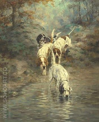Entre Act - Percival Leonard Rosseau reproduction oil painting