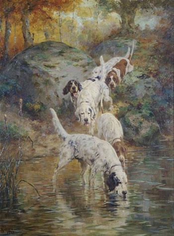 The Brook Pool 1929 - Percival Leonard Rosseau reproduction oil painting