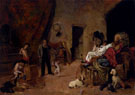 Circus Performers at Rest - Vicente March Y Marco reproduction oil painting