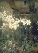 A Cottage Garden - Walter Frederick Osborne