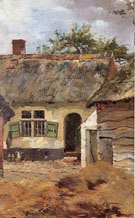 A Flemish Farmstead - Walter Frederick Osborne reproduction oil painting