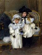 Dorothy and Irene Falkiner - Walter Frederick Osborne
