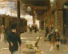 Hastings Railway Station - Walter Frederick Osborne