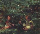 In the Garden Castlewood Avenue 1901 - Walter Frederick Osborne