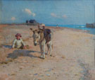 On Suffolk Sands - Walter Frederick Osborne