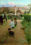 The Loiterers 1888 - Walter Frederick Osborne