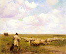 The Return of The Flock 1885 - Walter Frederick Osborne