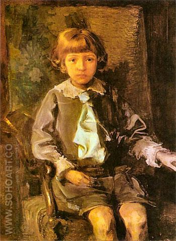 Iwon Lominski 1913 - Teodor Axentowicz reproduction oil painting