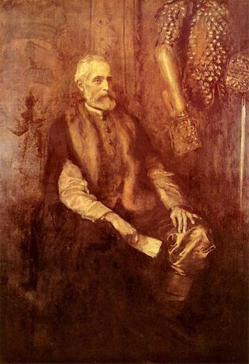 Wladyslaw Czartoryskiego c1892 - Teodor Axentowicz reproduction oil painting