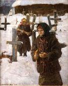 Zaduszki - Teodor Axentowicz