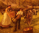A Sussex Orchard - Henry Herbert La Thangue