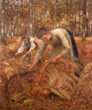 Gatering Bracken - Henry Herbert La Thangue