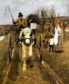 Leaving Home - Henry Herbert La Thangue