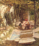 Packing Grapes - Henry Herbert La Thangue