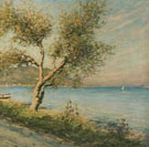 The Mulberry Tree - Henry Herbert La Thangue reproduction oil painting