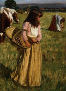 The Mushroom Gatherers - Henry Herbert La Thangue