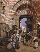 The Gates of the Khalif - William Logsdail