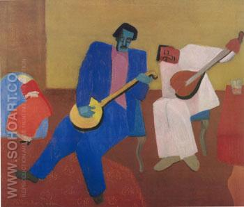 The Music Makers - Milton Avery reproduction oil painting