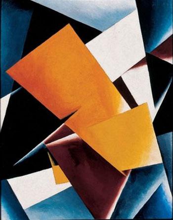 Painterly Architectonics 1918 - Llubov Popova reproduction oil painting