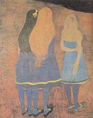 Girls Seen From the Back 1912 - Leon Spilliaert