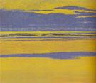 Mauve and Yellow Seascape 1923 - Leon Spilliaert