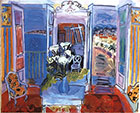 Interior with Open Window 1927 - Raoul Dufy