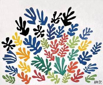 La Gerbe 1953 - Henri Matisse reproduction oil painting