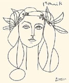 Head of a Woman - Pablo Picasso