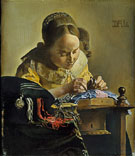 The Lacemaker (after Vermeer) 1955 - Salvador Dali