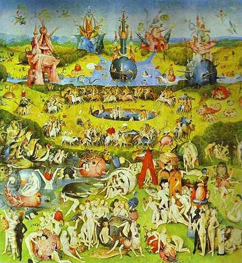 Center Triptych - Hieronymus Bosch reproduction oil painting