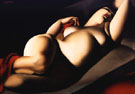 Beautiful Rafaela Red - Tamara de Lempicka reproduction oil painting